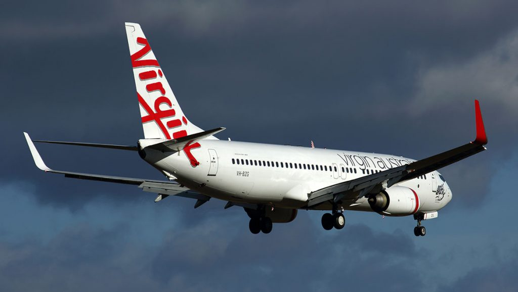 Virgin Australia will continue a seasonal Newcastle-Auckland service with Boeing 737-800s. (Rob Finlayson)