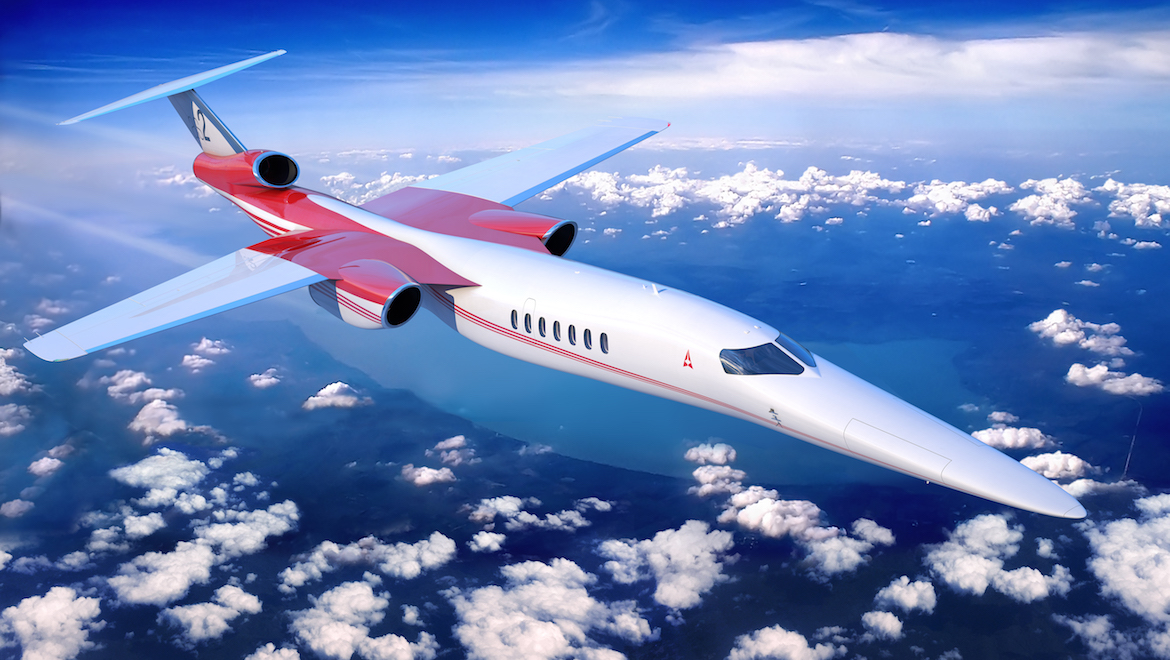 The Aerion AS2. (Aerion)