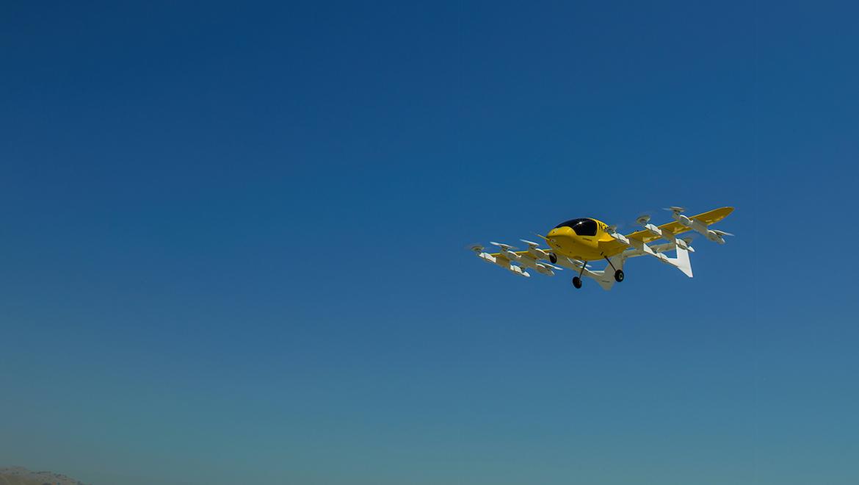 Cora in flight. (Cora.aero)