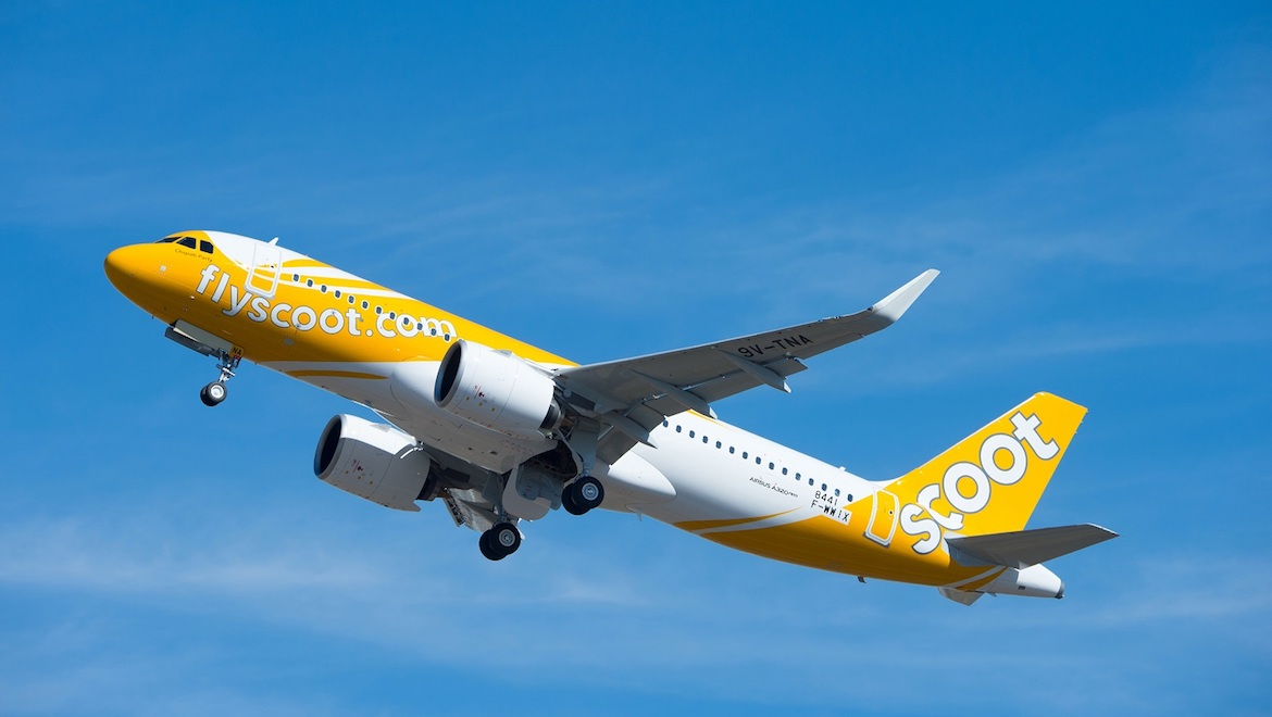Scoot took delivery of its first Airbus A320neo in early October 2018. (Airbus/Scoot)