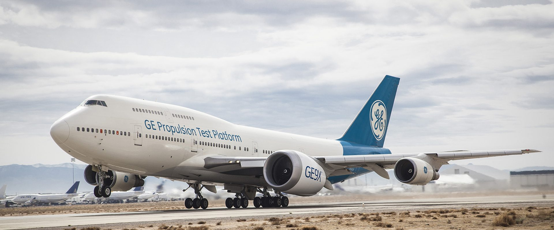 The GE9X took its maiden flight in March 2018. (GE Aviation).