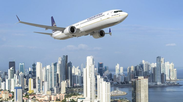 An artist's impression of a Boeing 737 MAX 10 in Copa Airlines livery. (Boeing)