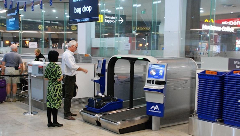 A file image of a bag drop facility at Melbourne. (SITA)