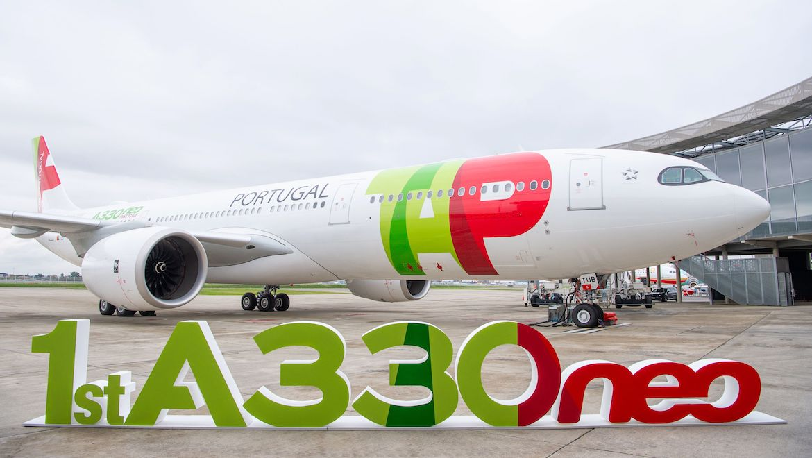 Airbus has delivered the first A33-900 to launch customer TAP Portugal. (Airbus)