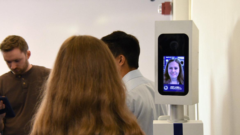 SITA facial recognition technology. (SITA)