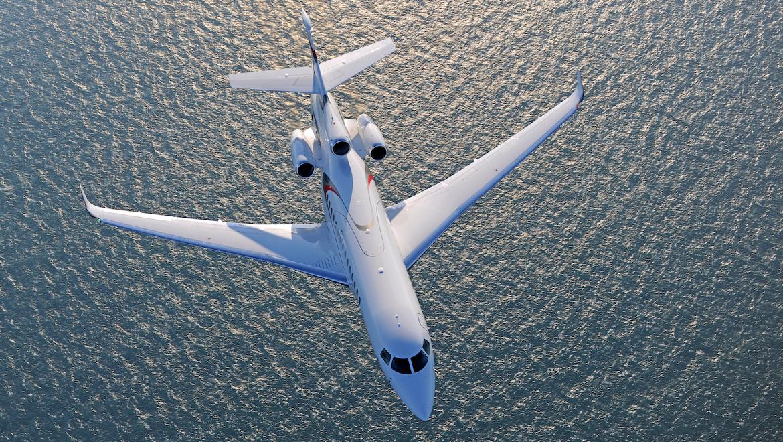 A file image of the Dassault's Falcon 8X. (Dassault)