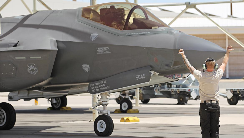 Scenes from Luke Air Force Base. (Andrew McLaughlin)