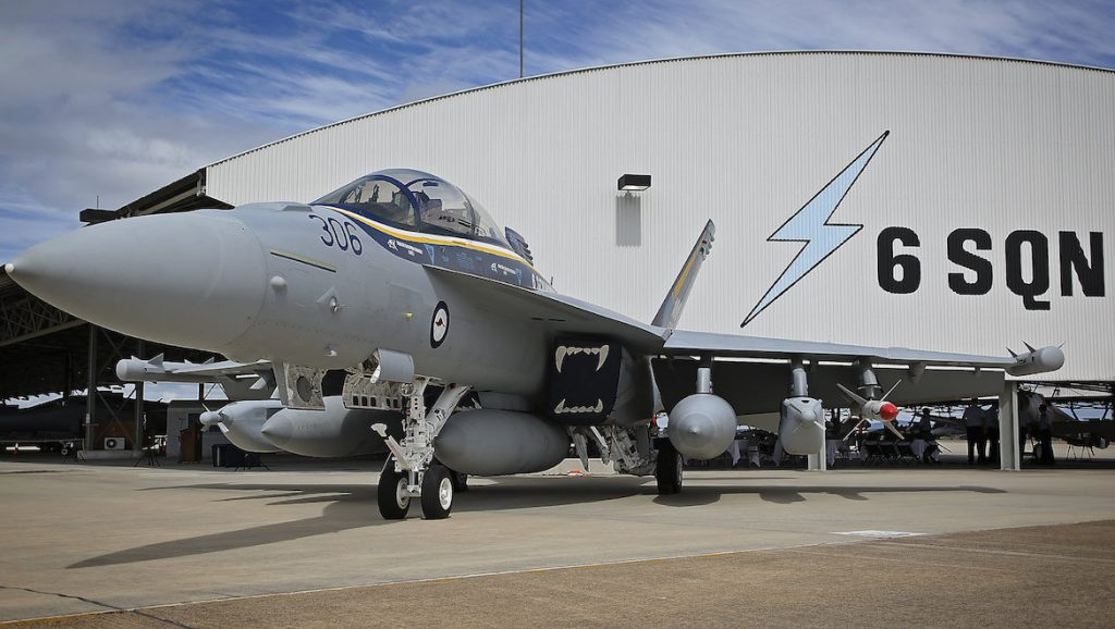 Australia's 11-strong EA-18G Growler fleet is flown by 6SQN based at RAAF Amberley. (Defence)