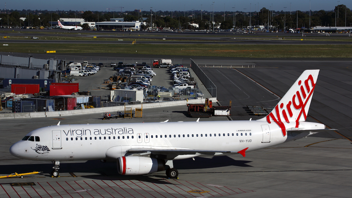 A file image of Virgin Australia Regional Airlines (VARA) Airbus A320 VH-YUD. (Rob Finlayson)