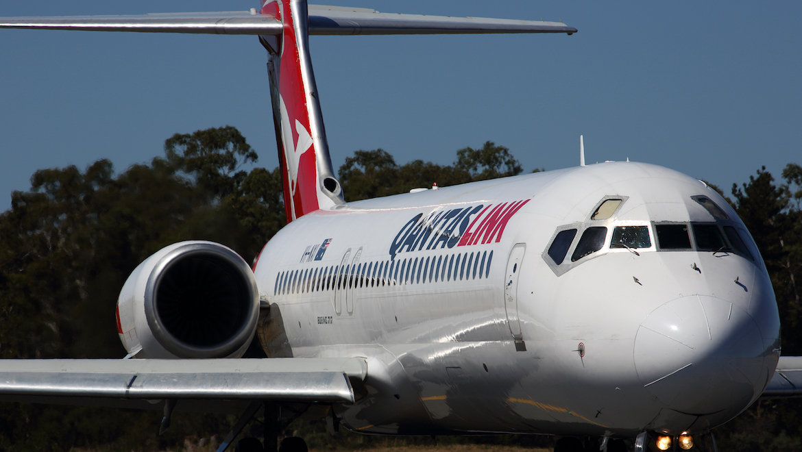 QantasLink 717 heavy maintenance is being shifted out of Canberra to Singapore. (Rob Finlayson)