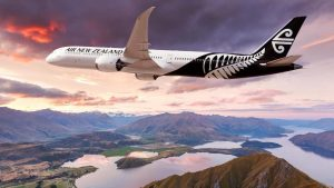 An artist's impression of a Boeing 787-10 in Air New Zealand livery. (Boeing/Twitter)