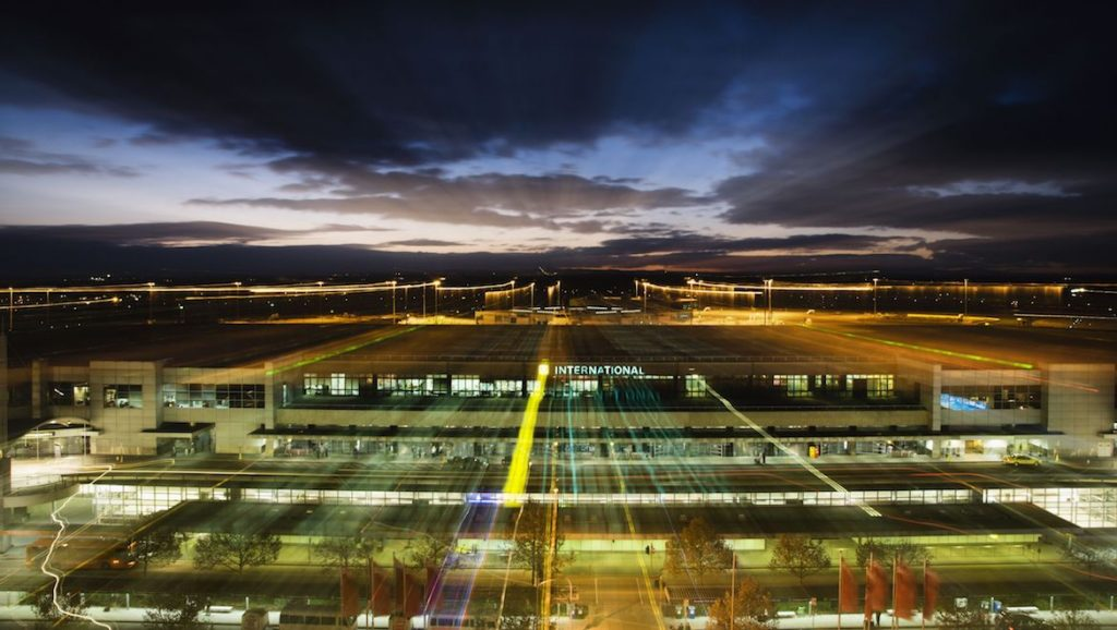 A supplied image of Melbourne Airport. (SITA)