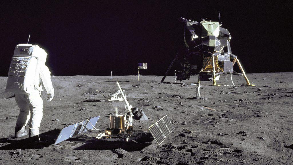 Astronaut Buzz Aldrin Jr. on the moon. (NASA/Flickr)