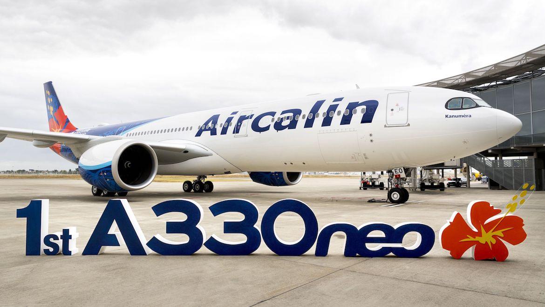 Aircalin's first Airbus A330-900. (Airbus)