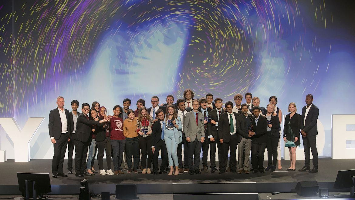 The 2019 Airbus Fly Your Ideas finalists. (Airbus)