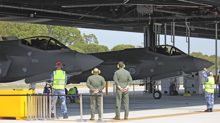 In her various roles, AVM Roberts has presided over elements of the RAAF F-35 program. (Andrew McLaughlin)