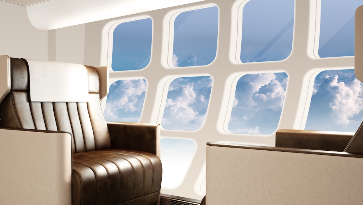 An artist's impression of the below main deck seating concept. (Earth Bay)