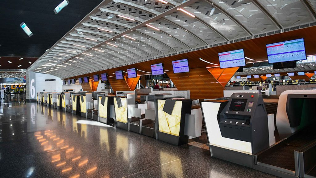 A file image of an airport checkin area. (SITA)