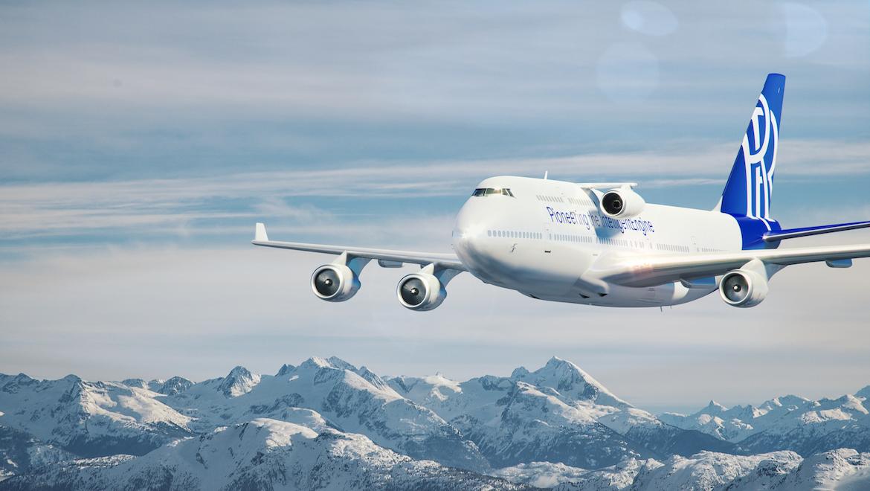An artist's impression of a Rolls-Royce Boeing 747 flying testbed. (Rolls-Royce/Flickr)