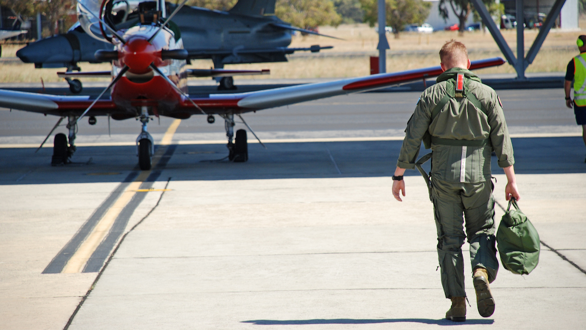 2FTS runs four courses per year, each comprising 22 students. (FLTLT Ray Hurley/RAAF)