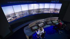 A supplied image of a digital air traffic control tower. (Searidge Technologies)