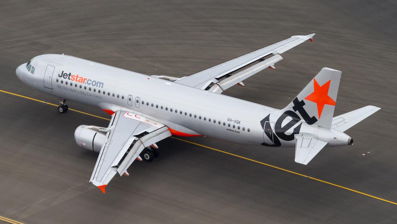 Jetstar Airbus A320 VH-VQK. (Seth Jaworski)