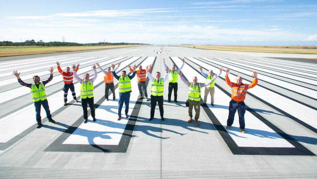 Brisbane Airport runway