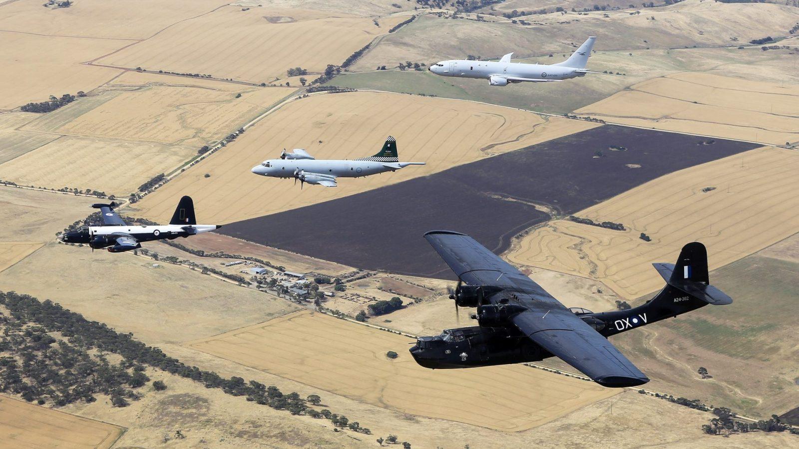 Royal Australian Air Force; Aircraft; A47 P-8A Poseidon; A9 AP-3C Orion; Out of Service; Royal Australian Air Force Aircraft; Second Series 1935-1960; A24 CATALINA; A89 LOCKHEED NEPTUNE;